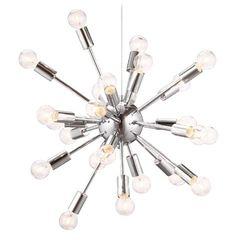 "$245. 23x23"".  Zuo 50028 Pulsar Ceiling Lamp, Chrome zuo http://www.amazon.com/dp/B005RAD97O/ref=cm_sw_r_pi_dp_hXJJtb0143Z6KW3C"