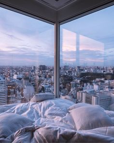 Visit Japan: Talk about a room with a view! The 'The Prince Gallery Tokyo Kio.- Visit Japan: Talk about a room with a view! The 'The Prince Gallery Tokyo Kioicho' hotel off… City Aesthetic, Aesthetic Room Decor, Travel Aesthetic, Blue Aesthetic, Apartment View, Dream Apartment, York Apartment, Nyc Apartment Luxury, Tokyo Apartment