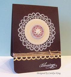 Blessings Card by Carolyn King