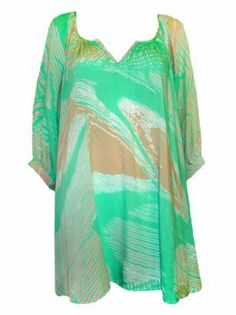 BOHO MINT PRINT TUNIC TOP - $50 boutiq.com.au All Things, Cover Up, Mint, Tunic Tops, Boho, Dresses, Fashion, Vestidos, Moda