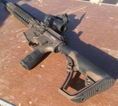 Daniel Defense Pistol Grip & ButtstockFind our speedloader now!  http://www.amazon.com/shops/raeind