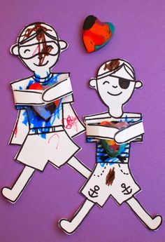 melted crayon hugger cards- fun for kids to make and give