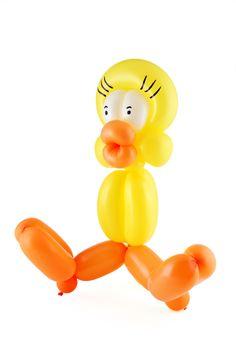 Figuras con globos paso a paso