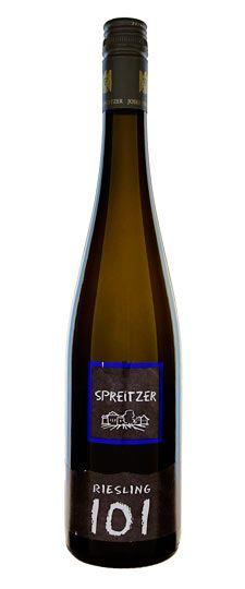 """2009 Spreitzer """"101"""" Riesling"""