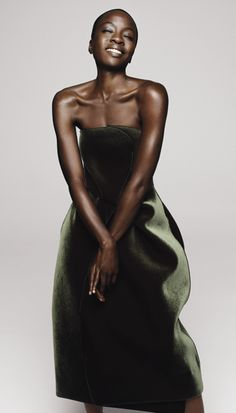 See The Walking Dead's Danai Gurira Getting Glamorous for Our October Issue! - Emporio Armani from #InStyle