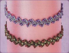 Beaded jewelry post and directions by Светлана <3