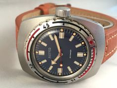 Authentic VOSTOK AMPHIBIA Military gent's watch. by SovietEmpire