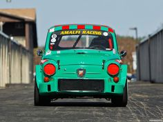 cars Fiat Abarth sports cars wallpaper background