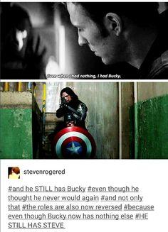 HE STILL HAS STEVE.