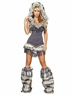 Adult Sexy Native American Temptress Deluxe Indian Costume