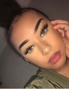 34 ideas make-up Baddie sees eyebrows – … – About Face Makeup Prom Makeup, Cute Makeup, Girls Makeup, Pretty Makeup, Makeup Goals, Makeup Inspo, Makeup Inspiration, Makeup Ideas, Flawless Makeup