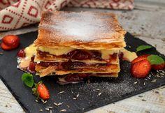 9 gyönyörű, leveles tésztás sütemény Hungarian Recipes, Izu, Pancakes, Sandwiches, Breakfast, Food, Morning Coffee, Essen, Pancake