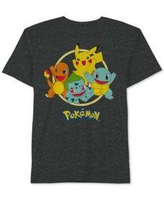 Pokemon Graphic-Print T-Shirt, Toddler & Little Boys (2T-7) - Brown 3