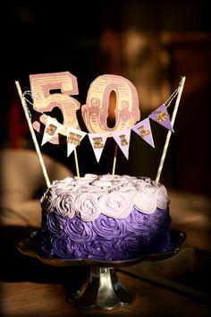 50 Shades of Purple Cake