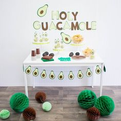 Holy Guacamole! 🥑 Today we've styled a snack bar around the beloved avocado! ✨NEW on the blog! (Link in bio)✨ Featuring @amalfi_decor . . .… Avocado Baby, Cute Avocado, Birthday Decorations, Baby Shower Decorations, 1st Birthday Parties, Girl Birthday, Not Having Kids, Holy Guacamole, Party Themes