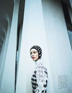 ☆ Aymeline Valade | Photography by Emma Summerton | For Vogue Magazine Japan | February 2013 ☆ #Aymeline_Valade #Emma_Summerton #Vogue #2013