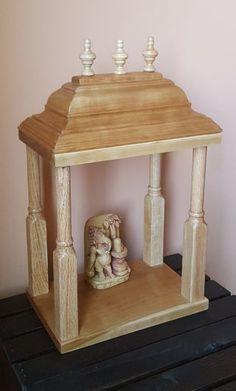 Small Hindu Temple : 8 Steps (with Pictures) - Instructables Hindu Mandir, Pooja Mandir, Cut Crown Molding, Mandir Design, Home Temple, Pooja Rooms, Hindu Temple, Wood Glue, Baseboards