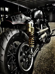 Harley Davidson Sportster Cafe Racer by RB Kustoms #motorcycles #caferacer #motos | caferacerpasion.com