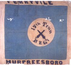 17th Tennessee Regiment flag.