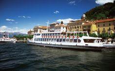 Ferry to Varenna, Italy