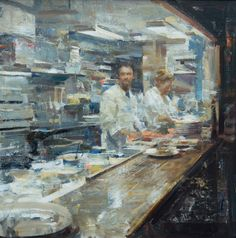 Quang Ho's show in the Patrong Gallery. Oct. 5-23 2015 Home — AMERICAN MASTERS at The Salmagundi Club