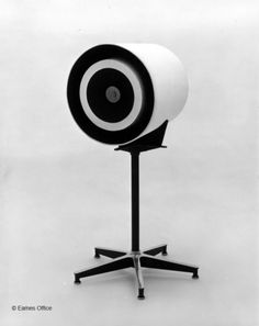 A model for an TruSonics Loudspeaker enclosure designed by Charles and Ray Eames