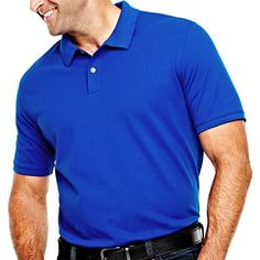 The Foundry Supply Co.™ Solid Piqué Polo Shirt – Big & Tall - jcpenney