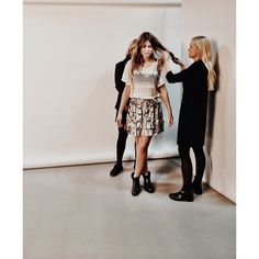First look - Final styling - Ready for the camera! #veromoda #veromodainside #model #styling #studio #photoshoot #fashion