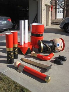 DIY Nutcracker project for a HUGE wow factor at Christmas time.