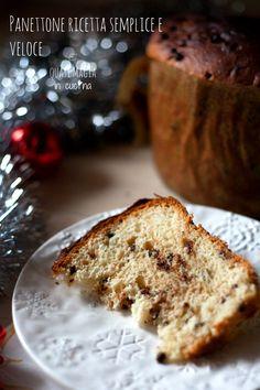 panettone-ricetta-semplice-e-veloce__ Saveur, Biscotti, Beautiful Christmas, Italian Recipes, Christmas Time, Banana Bread, Fudge, Sweets, Desserts