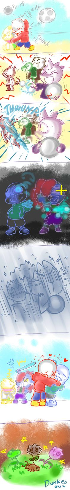 LittleTale: Play nice OR ELSE.... by perfectshadow06 on DeviantArt