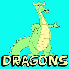 Dragons are very popular to children, teens, and others interested in Mystical Creatures. That is why I am doing another dragon drawing lesson. This is a friendly, cartoon dragon that we show you how to draw with easy instructional steps for all who want to learn how to draw him.