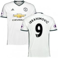Fodboldtrøjer Premier League Manchester United 2016-17 Zlatan Ibrahimovic 9  3. Trøje Rojo a4d3e5da14b01