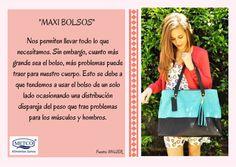 Los maxi bolsos son un accesorio de moda, pero ¿sabes qué problema ocasiona usarlos?