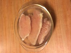 Frozen Chicken and no time to defrost? No problem! Place the frozen chicken in a microwaveable bowl. Fill the bowl with water until chicken is submerged. Microwave for 3-4 minutes and voila, you have yourself defrosted chicken without the wait! Also great because it doesn't cook the chicken like other quick defrosting methods.