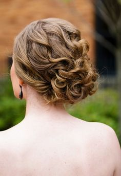 updo tucks and twists and turns..oh so loose