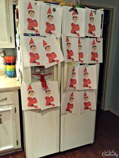 The Best Year Yet for Our Elf on the Shelf *Updated Daily* {Christmas 2015} - Just a Little Creativity
