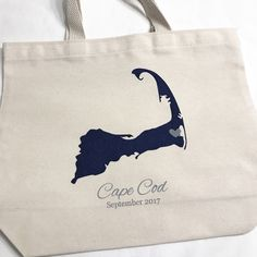 custom cape cod wedding welcome bags.  shop welcome bags and cape cod/massachusetts made products to fill them with at www.mokoandco.com