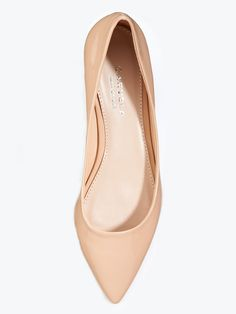 Carvela Hannah Pointed Shoes - Nude | Very.co.uk
