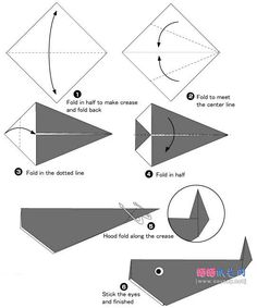 origami whale 1