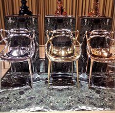 Love the #masters #chair @kartell_official New #milan2015 #isaloni #milanfurniturefair #salone2015 #salonedelmobile #design #interiordesign