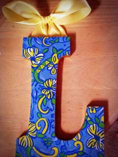 Tri Delta Lilly Pulitzer Letters
