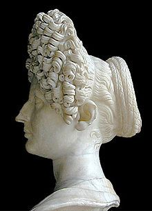 Flavian and Antonine hairstyle