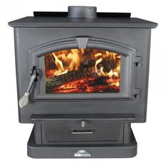 US Stove 2500 Large Wood Stove - 2,500 Sq. Ft.