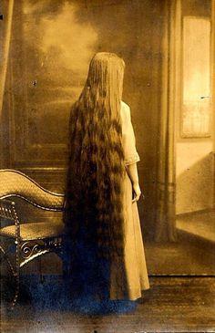Vintage Long Hair