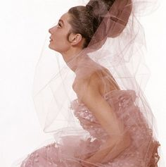 Audrey  wearing Givenchy by Bert Stern