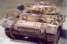 Tamiya's Panzer IV Ausf. H with armor skirts