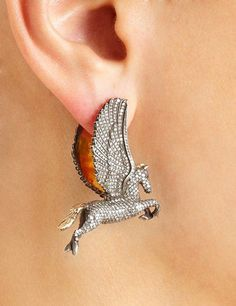 Pegasus earrings Sevan Bicakci