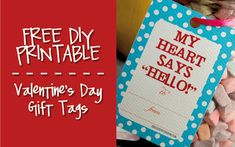 Valentines, Thanksgiving, St. Patricks day Printable Gift Tags