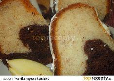 Banánovo-jablečná bábovka se skořicí a mandlemi recept - TopRecepty.cz 3, French Toast, Breakfast, Food, Morning Coffee, Meals, Morning Breakfast
